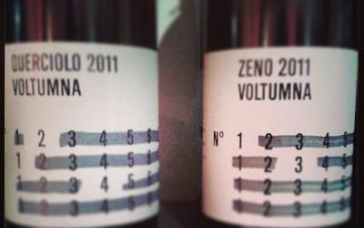 Querciolo e Zeno 2011 Voltumna a Medulla Vini Bologna